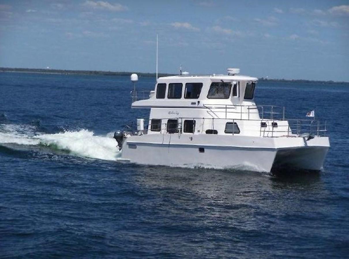 """5 2014 ENDEAVOUR """"40"""" power Cat Catamaran 2857650"""