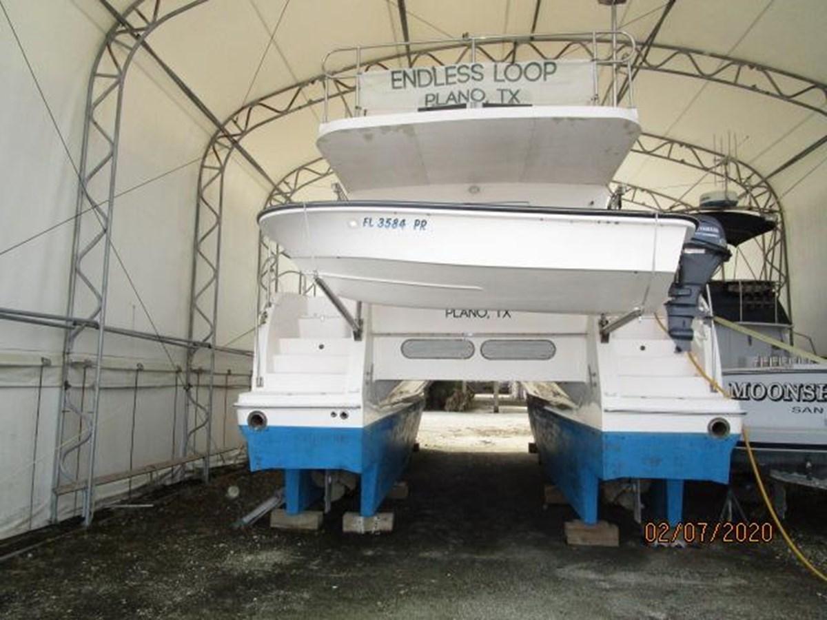 """10 2014 ENDEAVOUR """"40"""" power Cat Catamaran 2857655"""