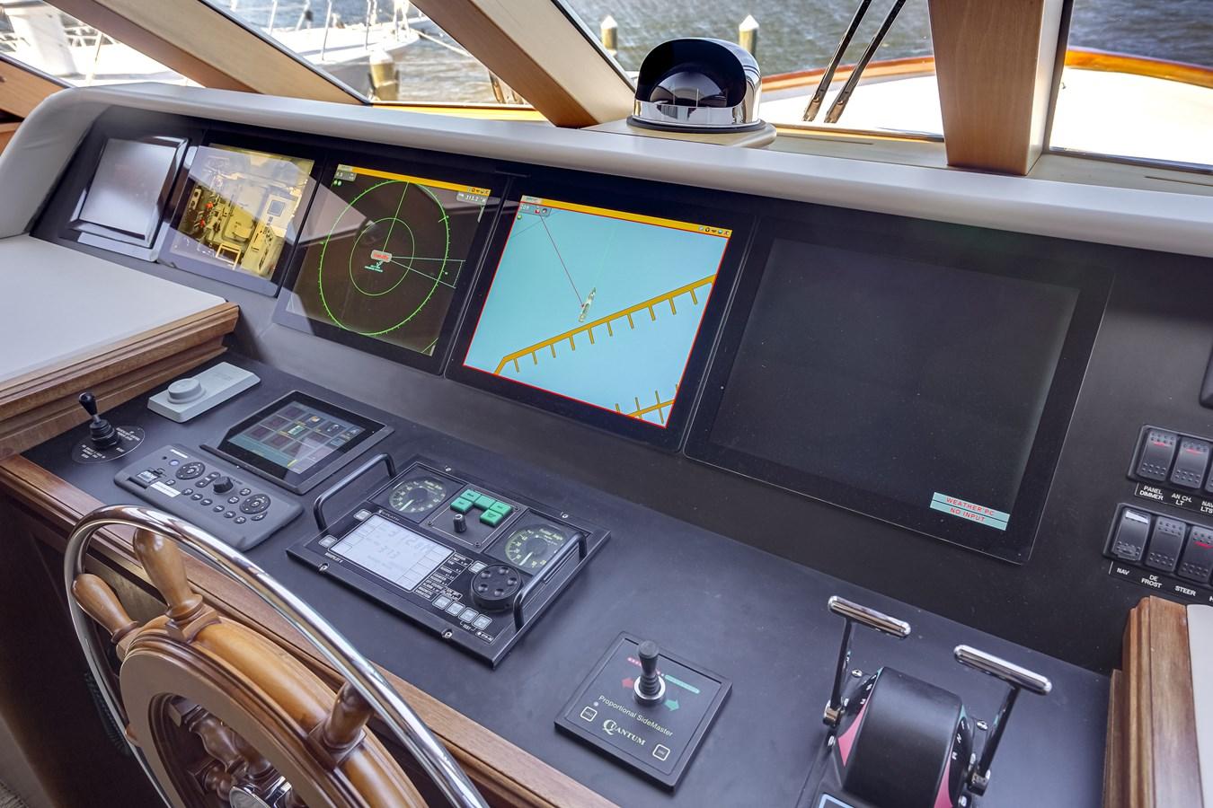 2011 85 Burger - Pilothouse Helm (2) 2001 BURGER 85 Motor Yacht Motor Yacht 2847197