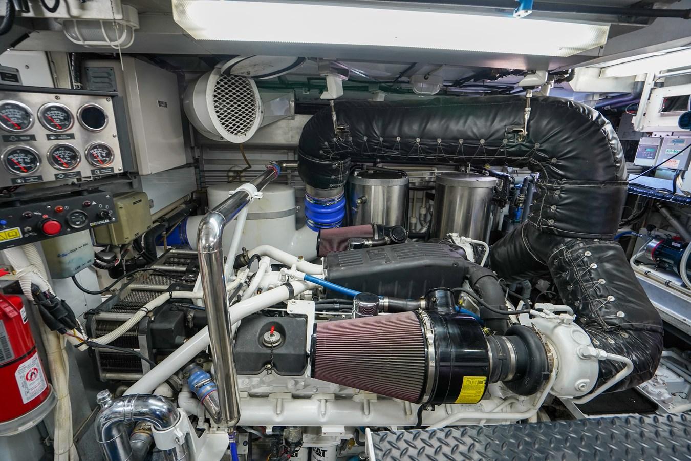 2011 85 Burger - Engine Room (1) 2001 BURGER 85 Motor Yacht Motor Yacht 2847202