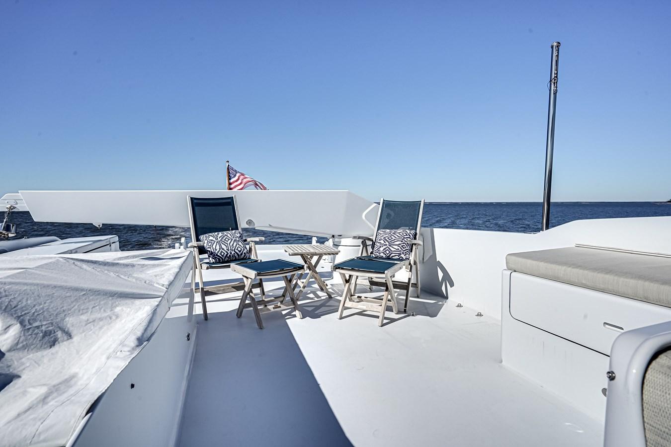 2011 85 Burger - Aft Deck (2) 2001 BURGER 85 Motor Yacht Motor Yacht 2847218