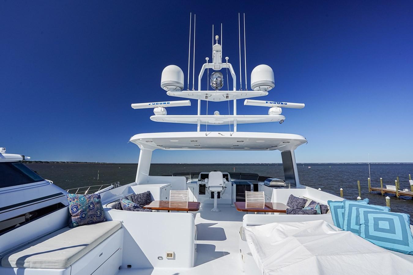 2011 85 Burger - Aft Deck (3) 2001 BURGER 85 Motor Yacht Motor Yacht 2847219