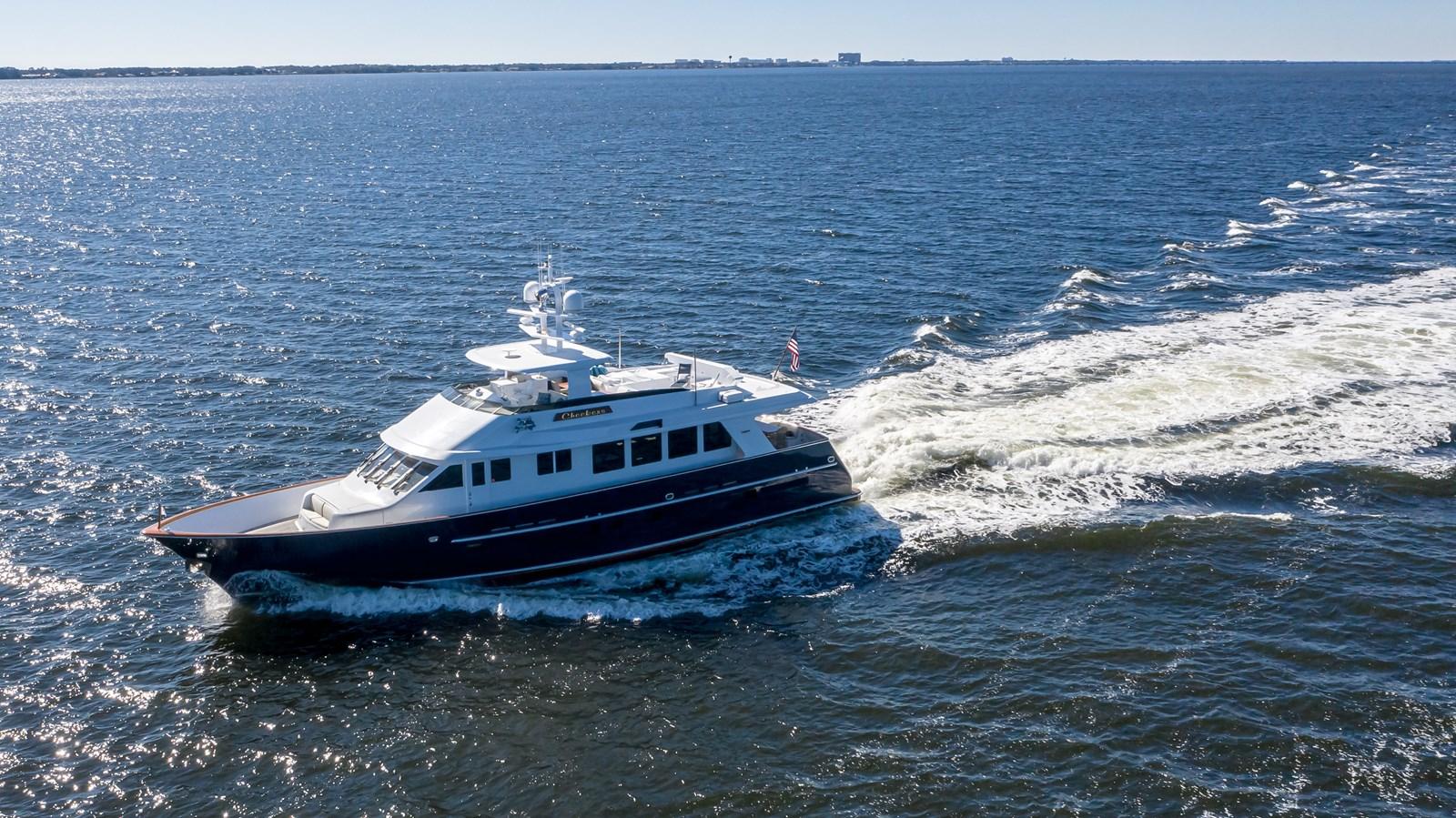 2011 85 Burger - Port Profile Running 2001 BURGER 85 Motor Yacht Motor Yacht 2847229