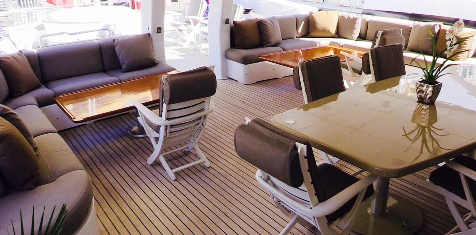 Costa Magna - Ouutdoor area 1983 PROTEKSAN  Motor Yacht 2852022
