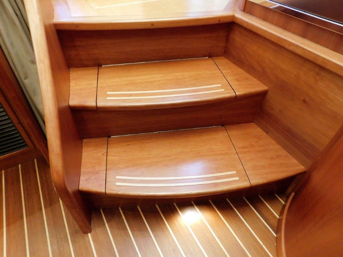 Stairs to Galley 2014 SABRE YACHTS 42 Salon Express Motor Yacht 2853484
