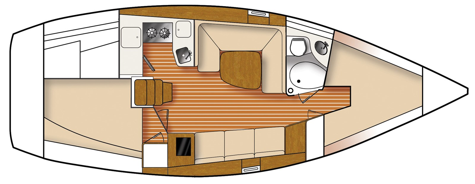 Interior Layout 2020 CATALINA  Sloop 2860388