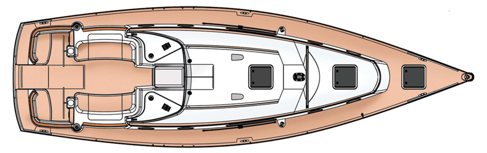 moody-45ac-layout-2 2012 MOODY Moody 45AC Cruising Sailboat 2860663