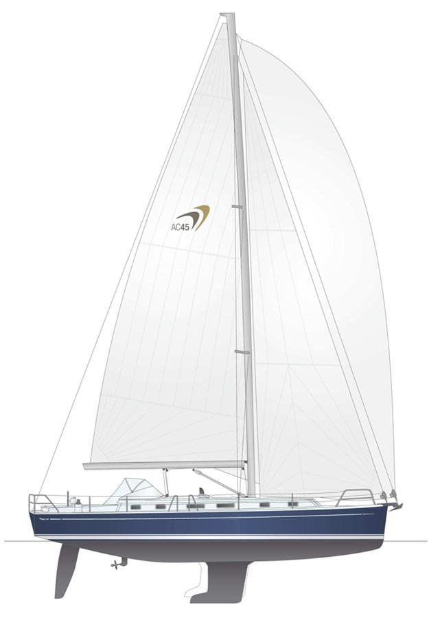 moody-45ac-layout-3 2012 MOODY Moody 45AC Cruising Sailboat 2860664