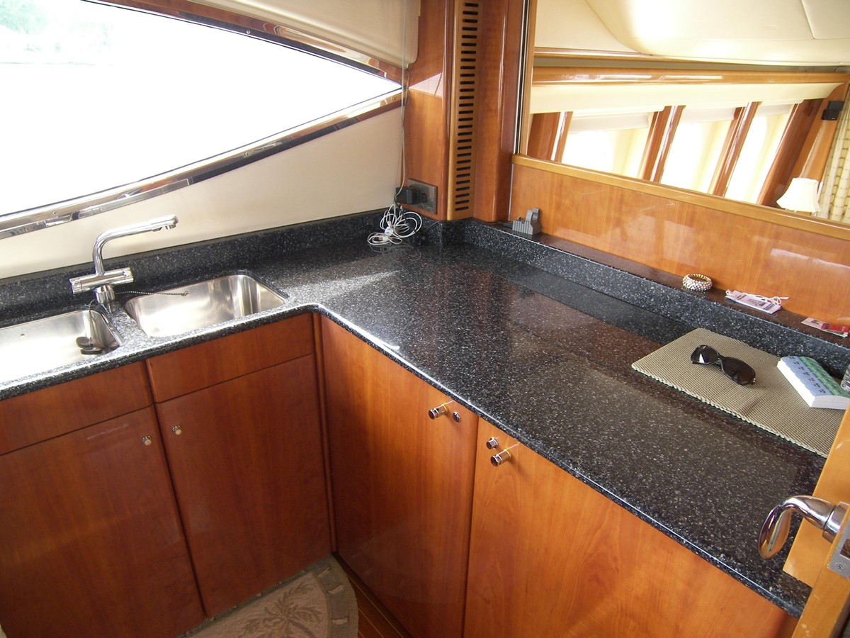 Galley 2001 VIKING SPORT CRUISERS 68 Motor Yacht  2862881