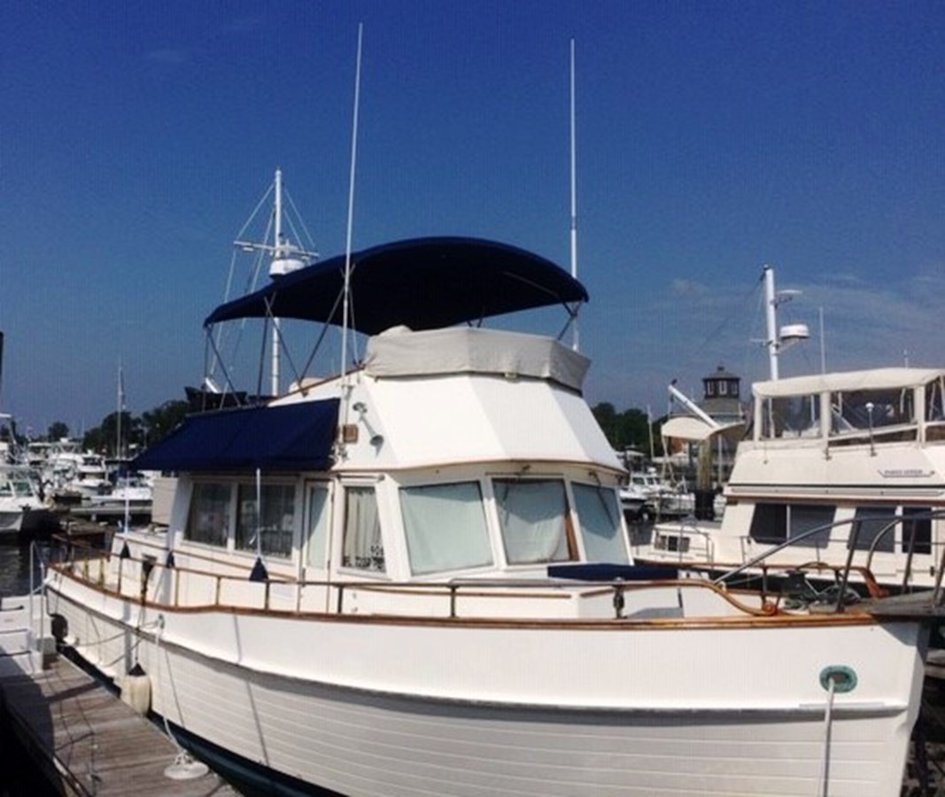 Starboard side, forward 1980 GRAND BANKS 42 Classic Trawler 2865670