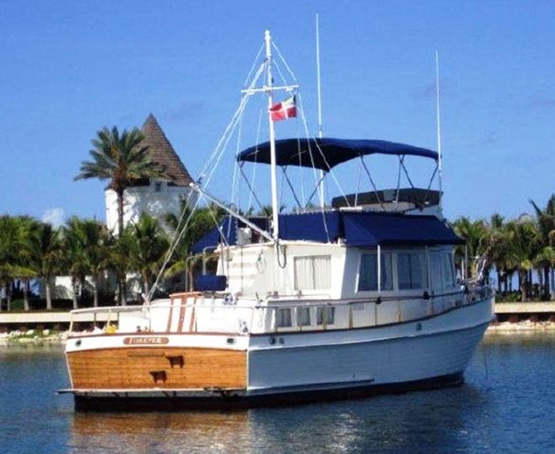Starboard side, aft 1980 GRAND BANKS 42 Classic Trawler 2865672