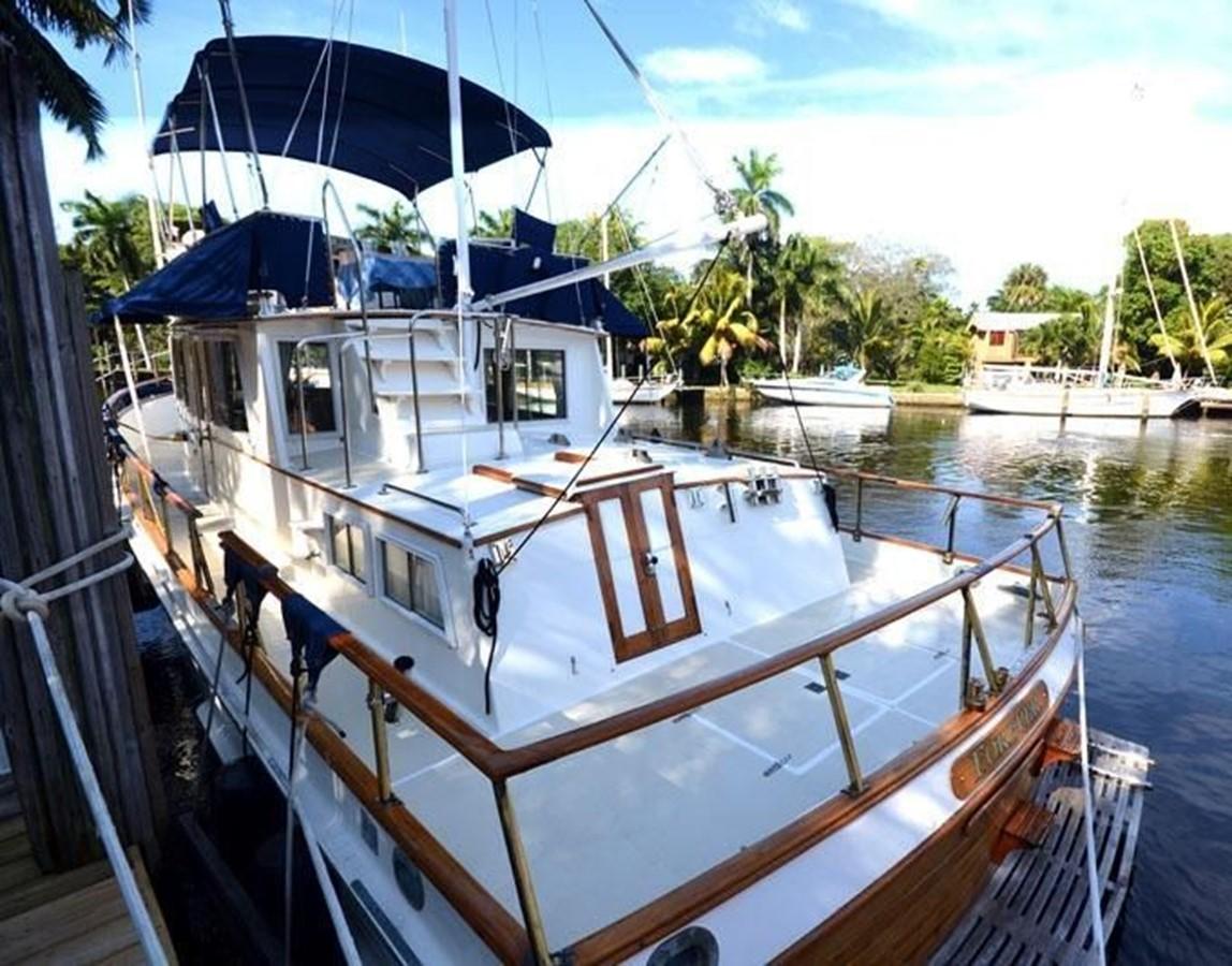 Port side, aft 1980 GRAND BANKS 42 Classic Trawler 2865676