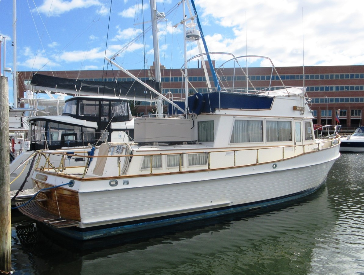 Starboard side 1980 GRAND BANKS 42 Classic Trawler 2865687