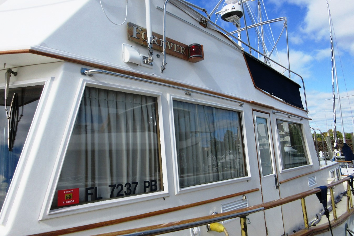 Port side detail 1980 GRAND BANKS 42 Classic Trawler 2865689