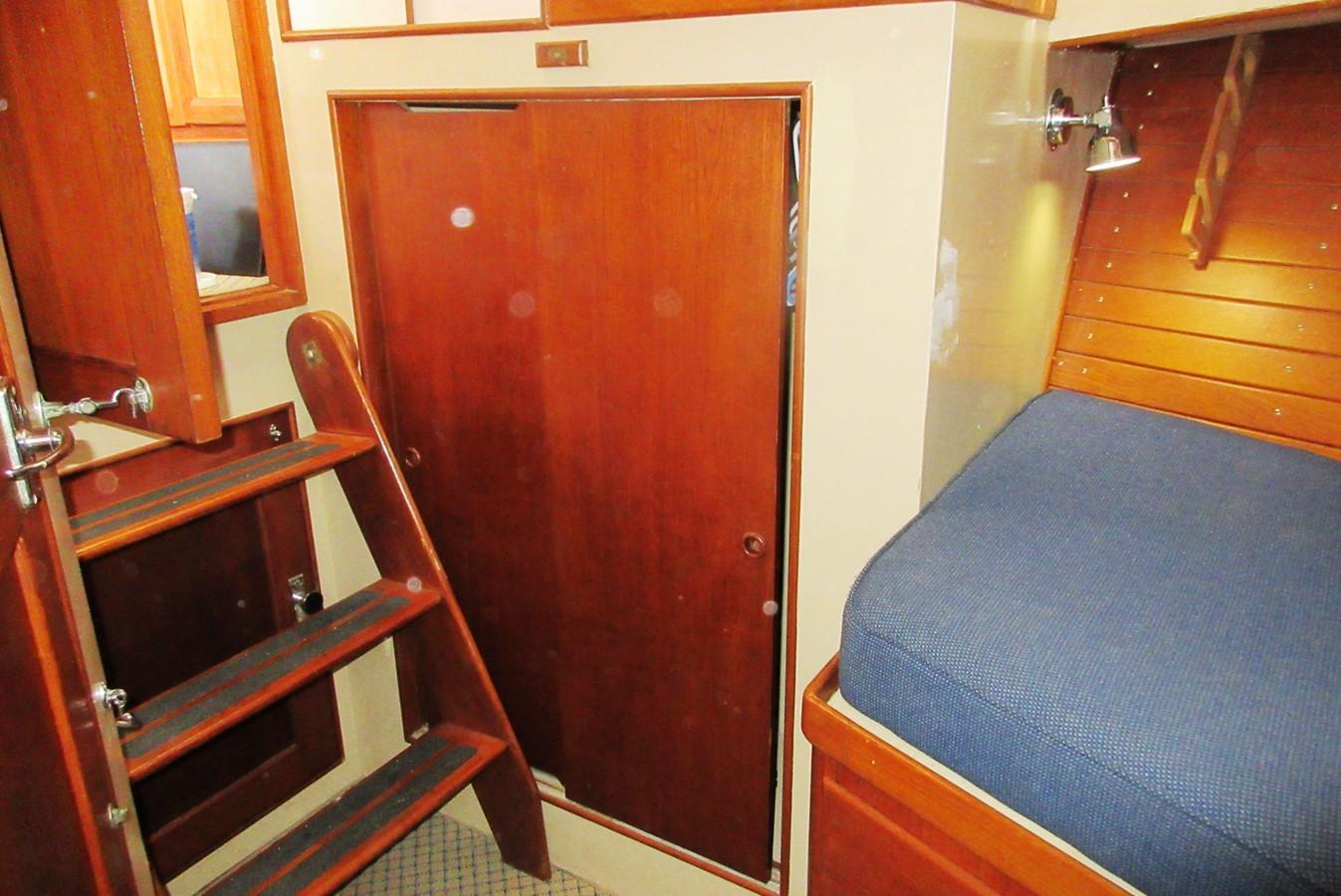 Fore Cabin hanging locker, port side 1980 GRAND BANKS 42 Classic Trawler 2865736