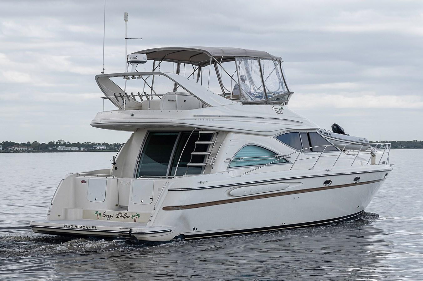 Aft Starboard Profile 1999 MAXUM 4600 SCB  Cruiser 2878693