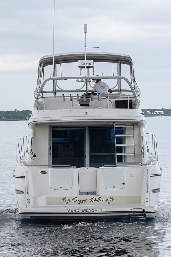 Aft Profile 1999 MAXUM 4600 SCB  Cruiser 2878696