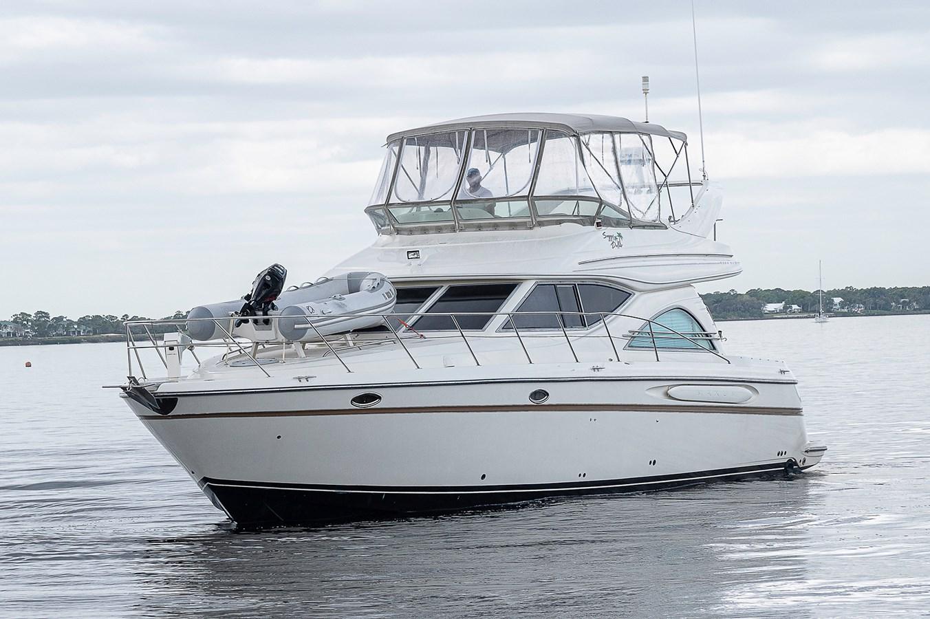 Port Profile 1999 MAXUM 4600 SCB  Cruiser 2878705