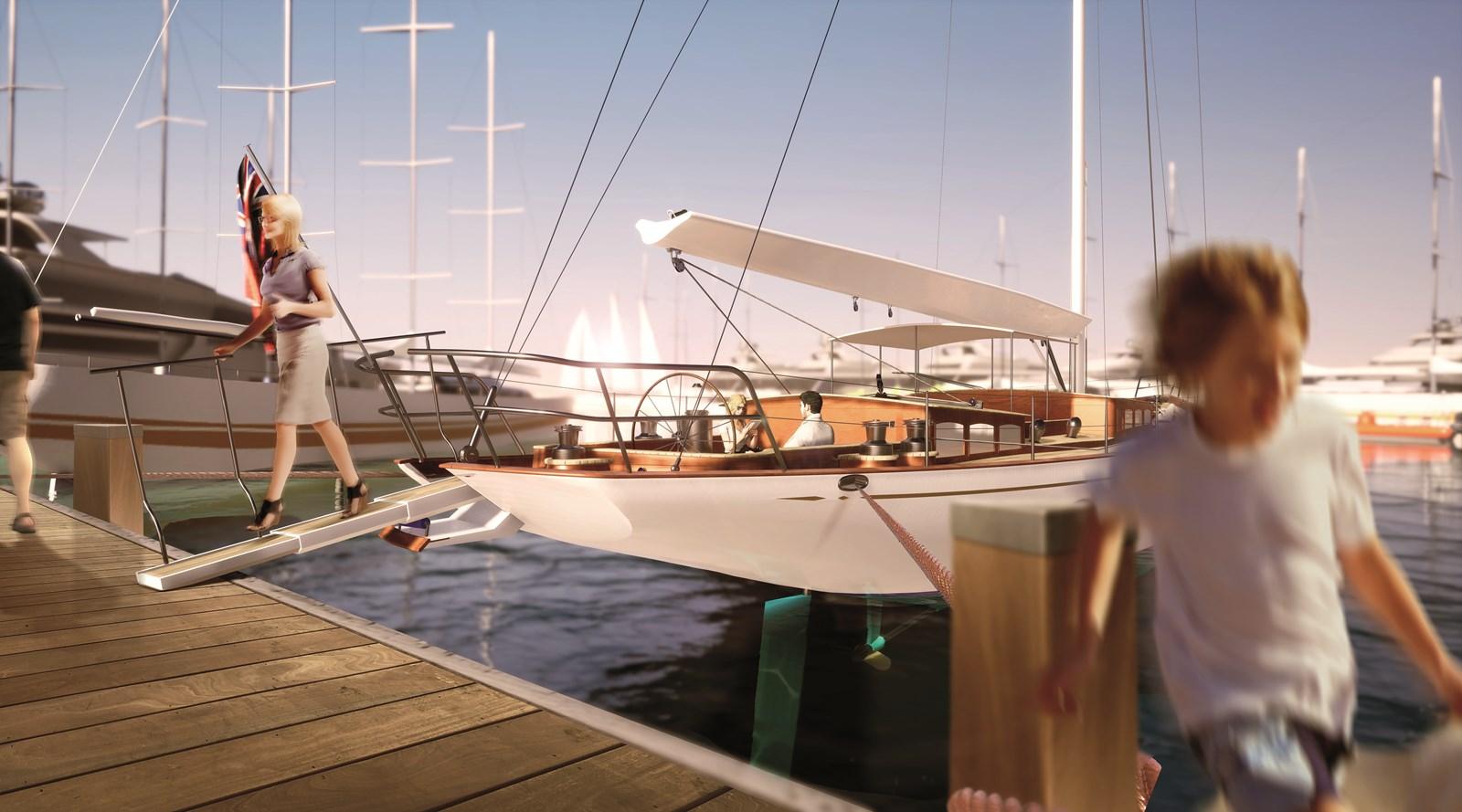 Shipborn-loopplank 2020 #1 HULL Truly Classic Classic Yacht 2887074