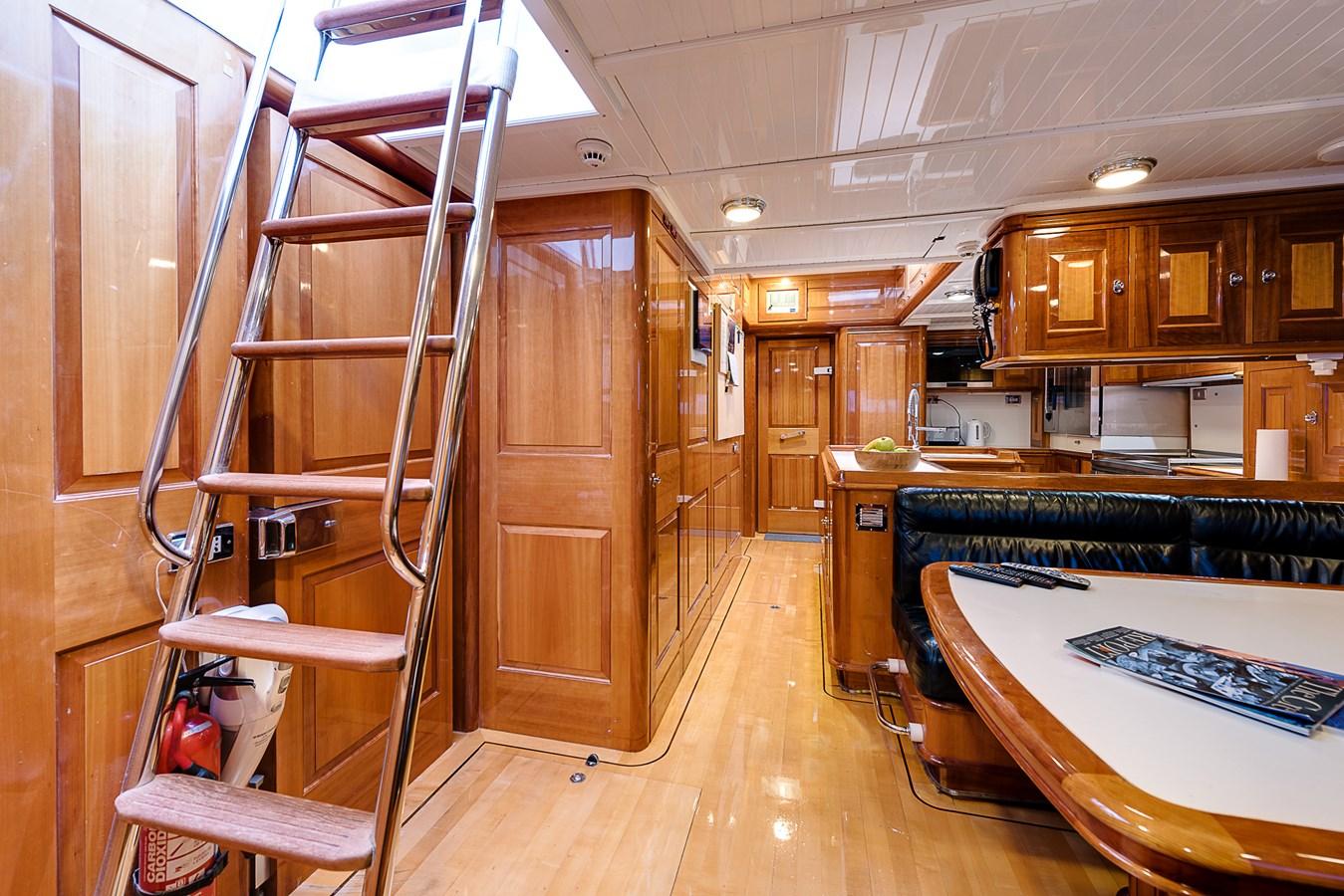 Deck Crew acces  Mess 1999 VITTERS Hoek Design Sloop Cruising Ketch 2887080