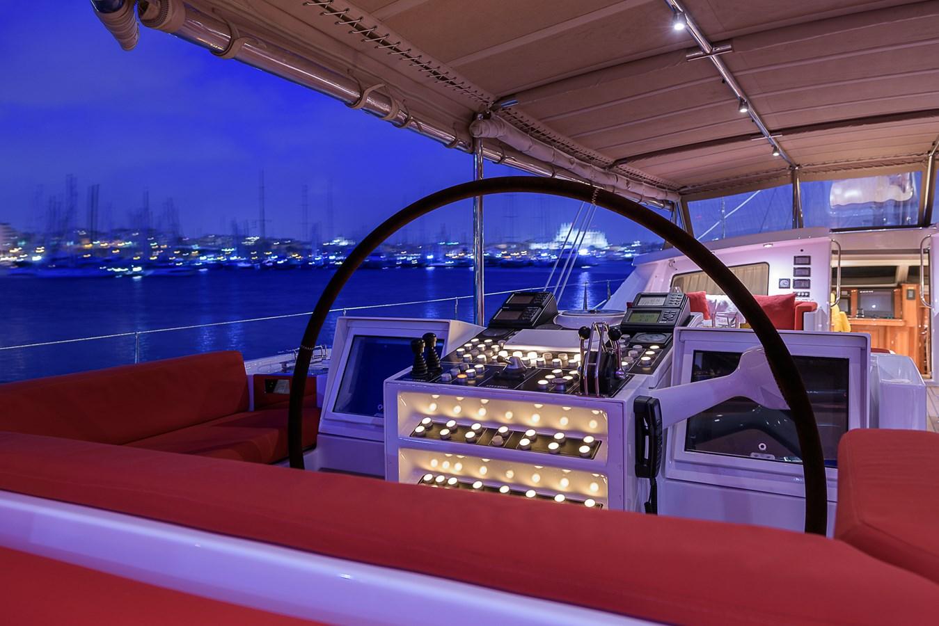 Steering wheel 1999 VITTERS Hoek Design Sloop Cruising Ketch 2887100