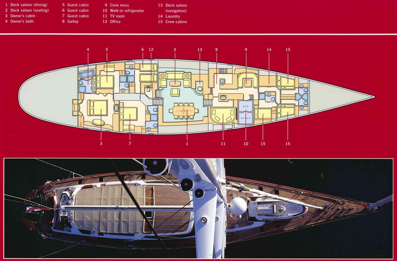 PLANO-HQ 1999 VITTERS Hoek Design Sloop Cruising Ketch 2887109