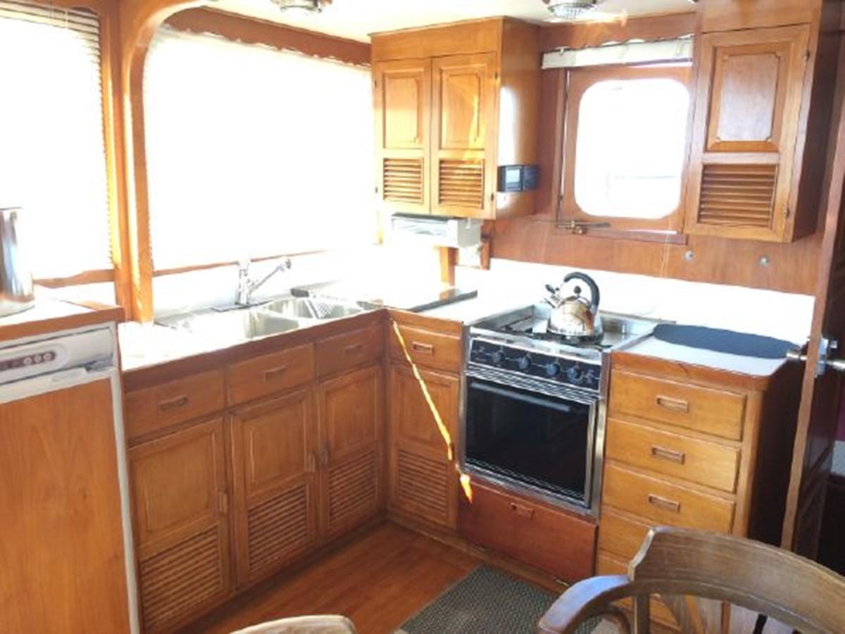 Galley 1977 DEFEVER Aft-Cabin Trawler 2917465