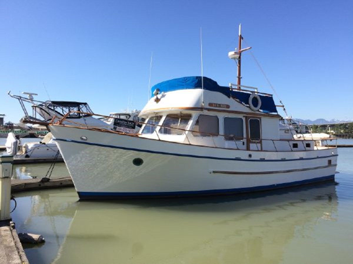 Port Profile 1977 DEFEVER Aft-Cabin Trawler 2917489