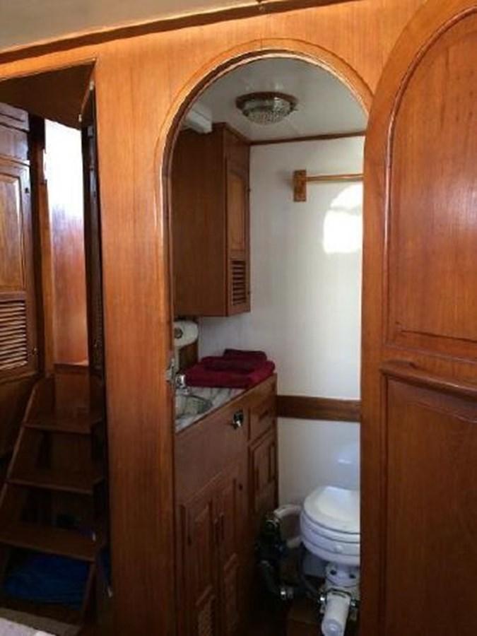 Head 1977 DEFEVER Aft-Cabin Trawler 2917493