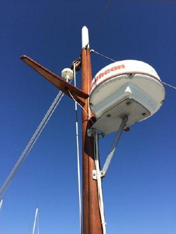 Mast 1977 DEFEVER Aft-Cabin Trawler 2917499