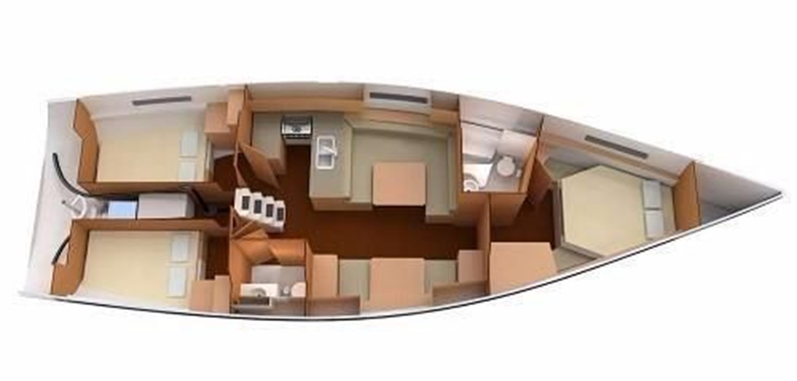 Interior Layout 2020 CATALINA 425 Sloop 2910645