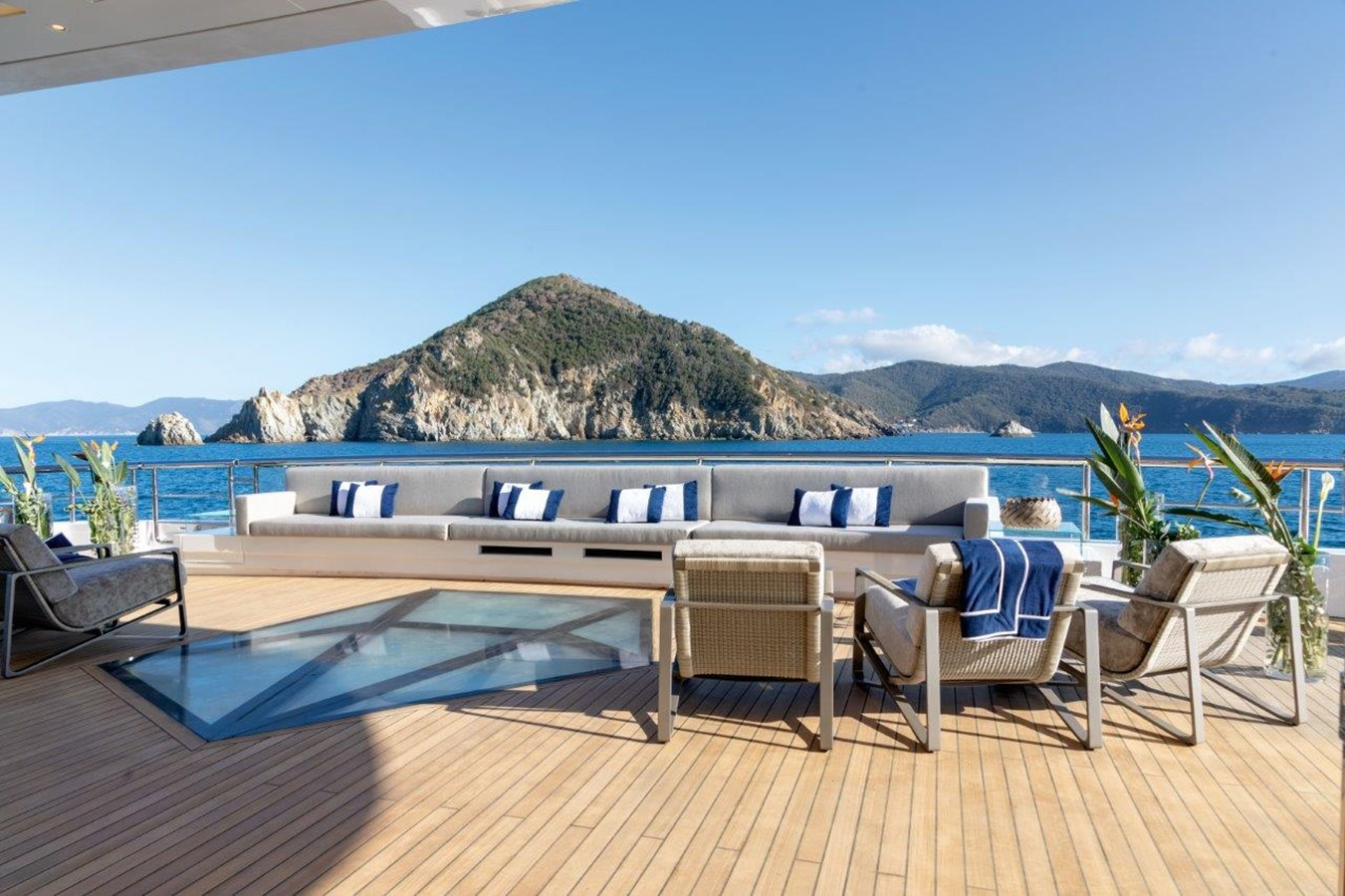 Aft Deck Lounging Area  2020 BENETTI Displacement Motor Yacht Motor Yacht 2918036