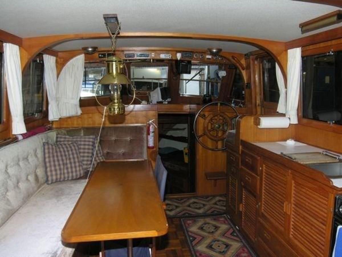 Main Salon 1981 GRAND MARINER  Trawler 2921812
