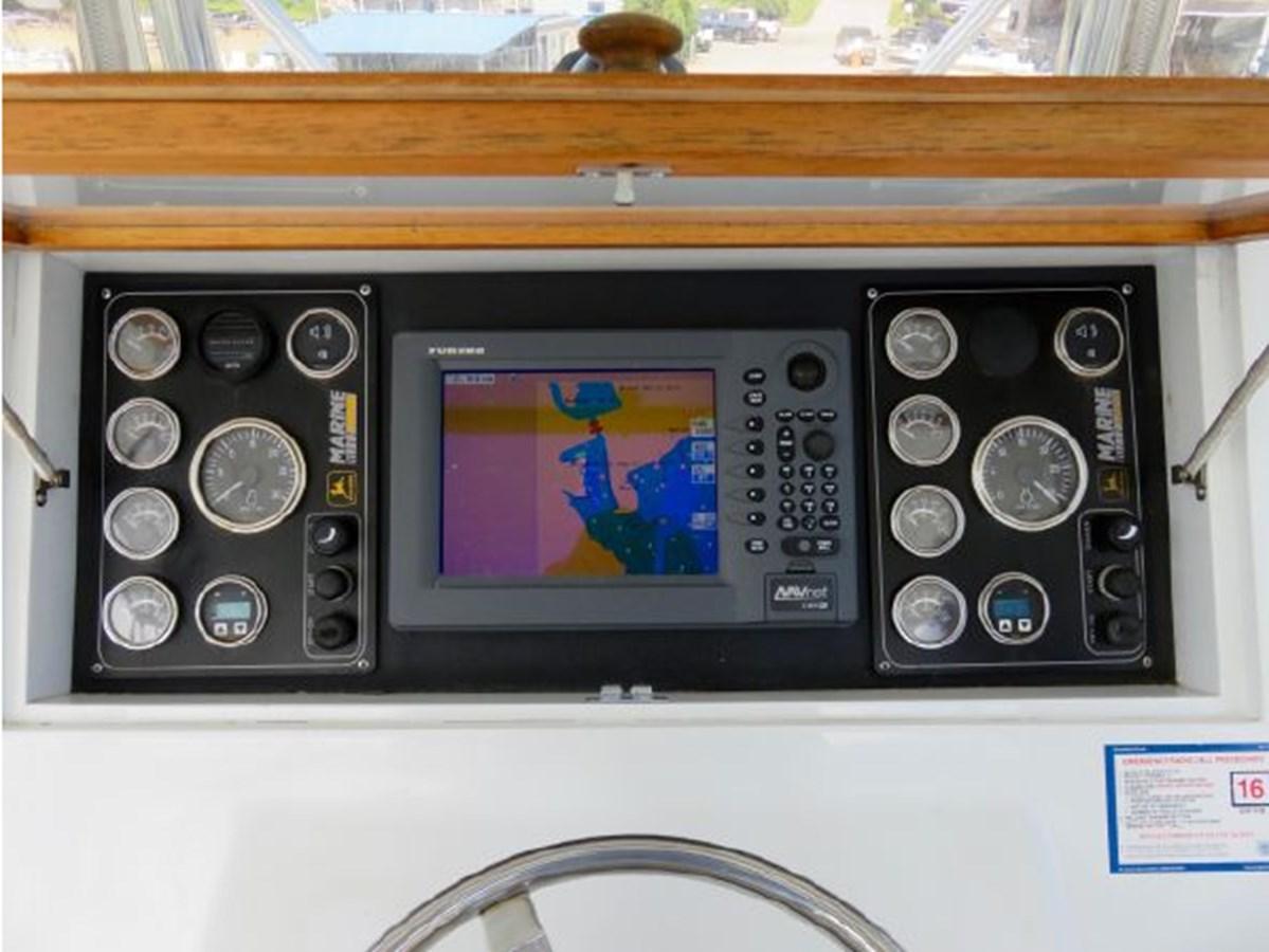 21 2013 CUSTOM CAROLINA Lewis Brothers 41 Flybridge Sportfish Sport Fisherman 2919845