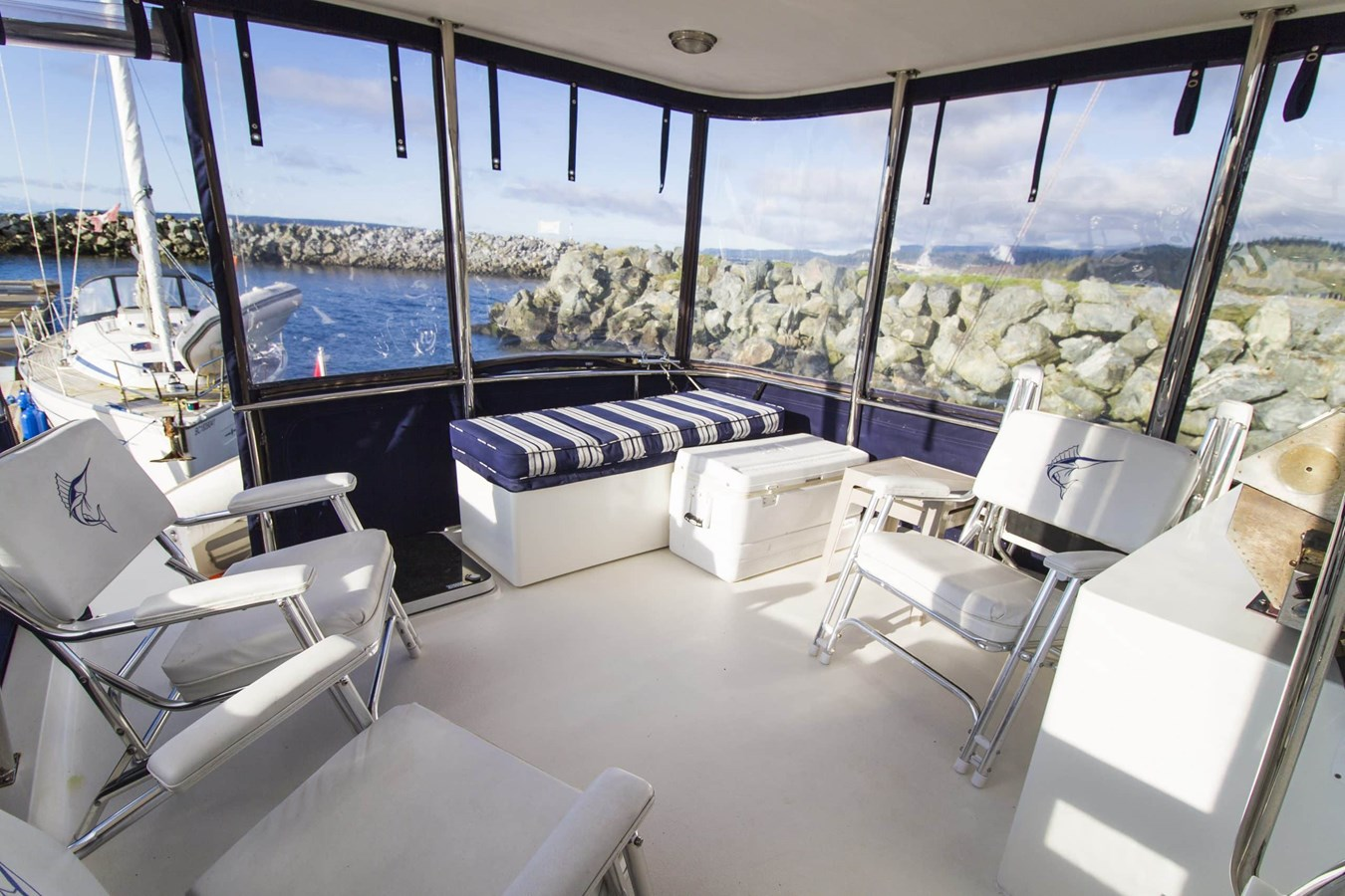 Covered Aft Deck 2009 COOPER  Motor Yacht 2920652