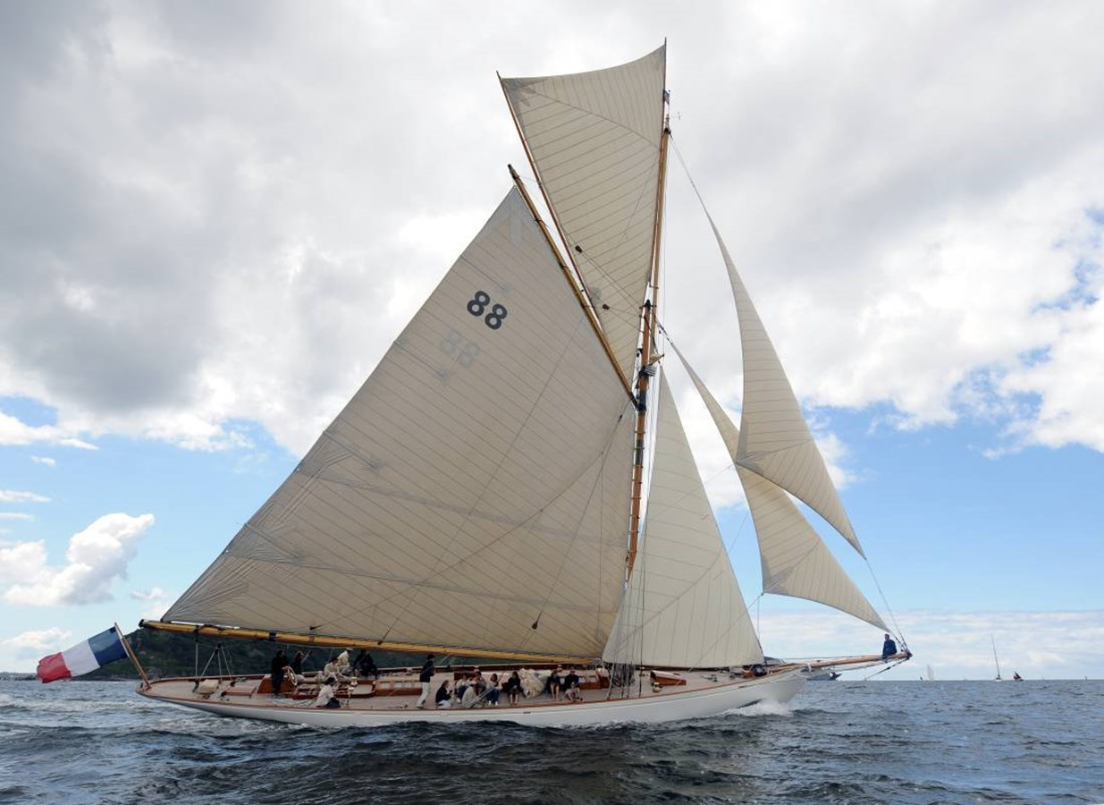 2 1903 WILLIAM FIFE AND SON  Classic Yacht 2928754