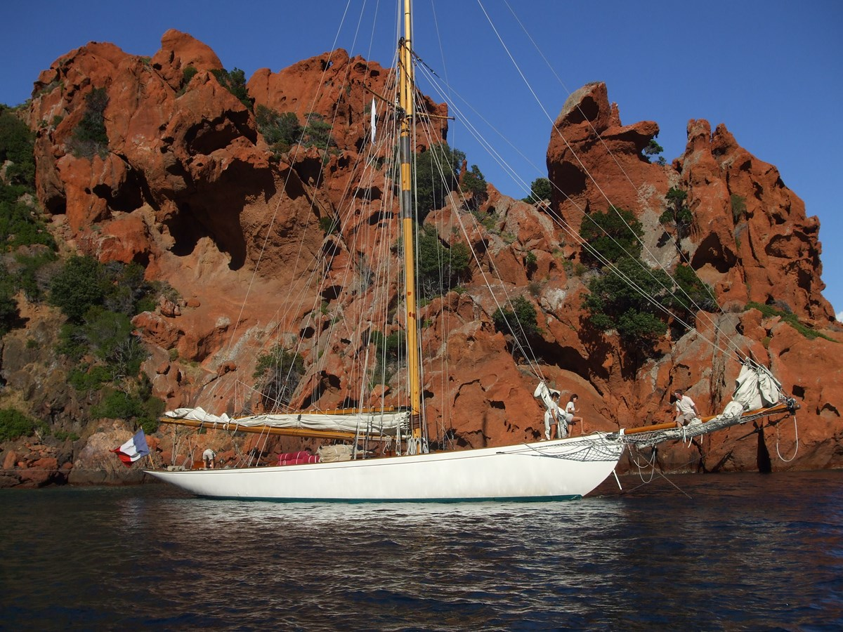 moonbeam corsica classic 078 1903 WILLIAM FIFE AND SON  Classic Yacht 2928762