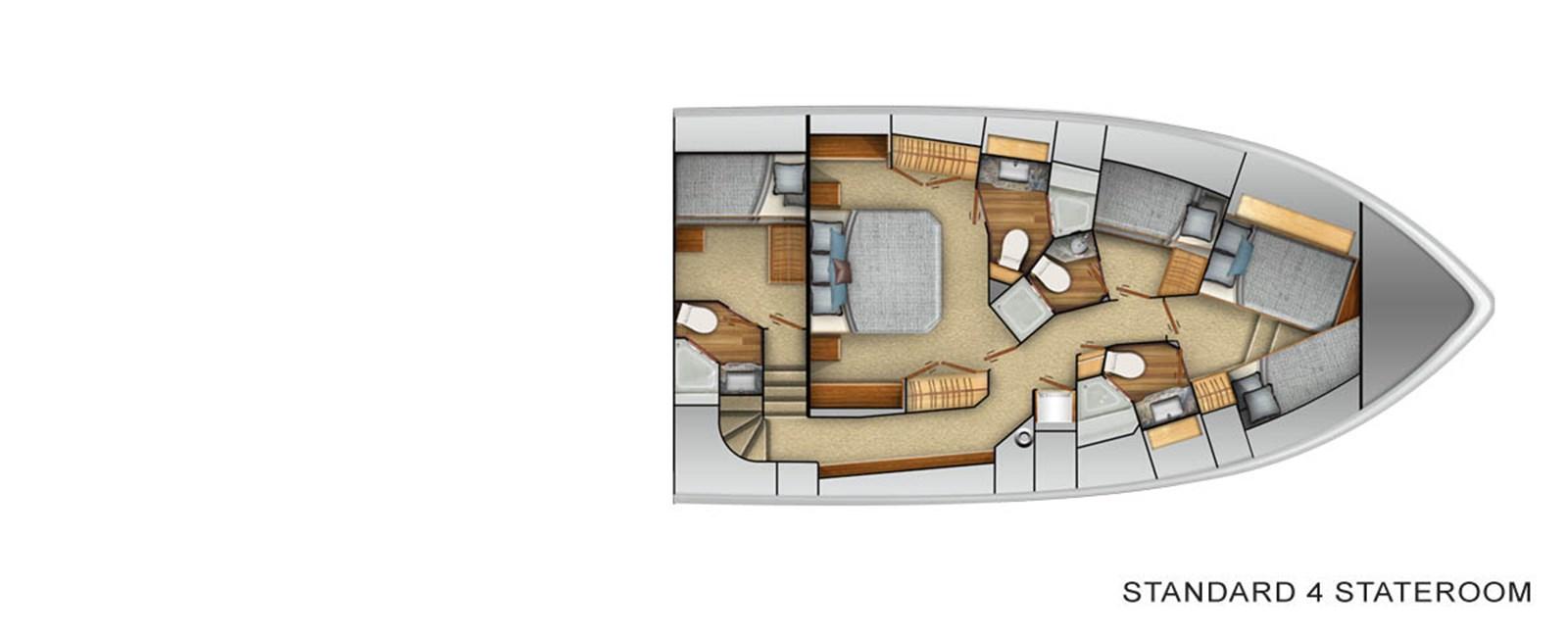 Stateroom Layout 2021 VIKING Enclosed Bridge Sport Fisherman 2926357