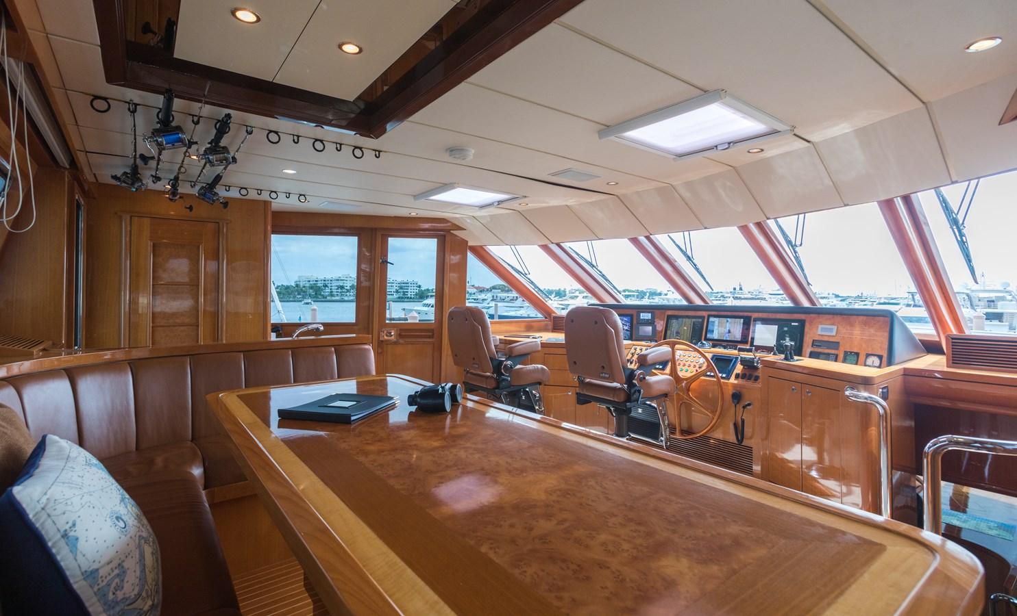 pilothouse and settee 2005 OCEAN ALEXANDER  Motor Yacht 2927596