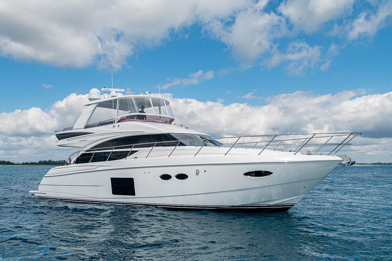 Bow To Stern_Profiles18 2015 PRINCESS YACHTS 56 Motor Yacht 2932799