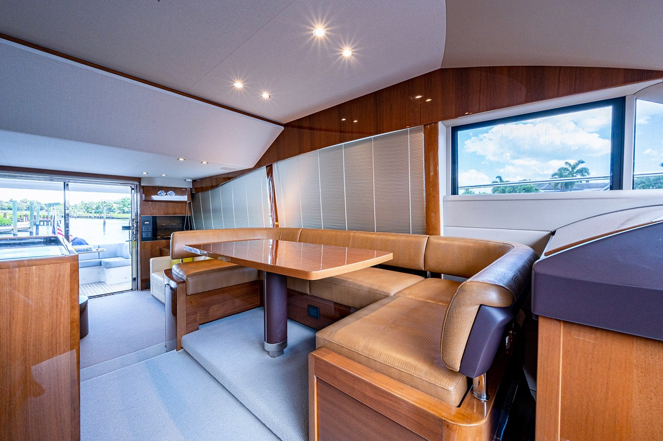 Bow To Stern_Dinette3 2015 PRINCESS YACHTS 56 Motor Yacht 2932812