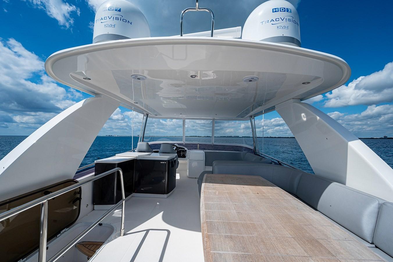 Bow To Stern_Flybridge1 2015 PRINCESS YACHTS 56 Motor Yacht 2932813