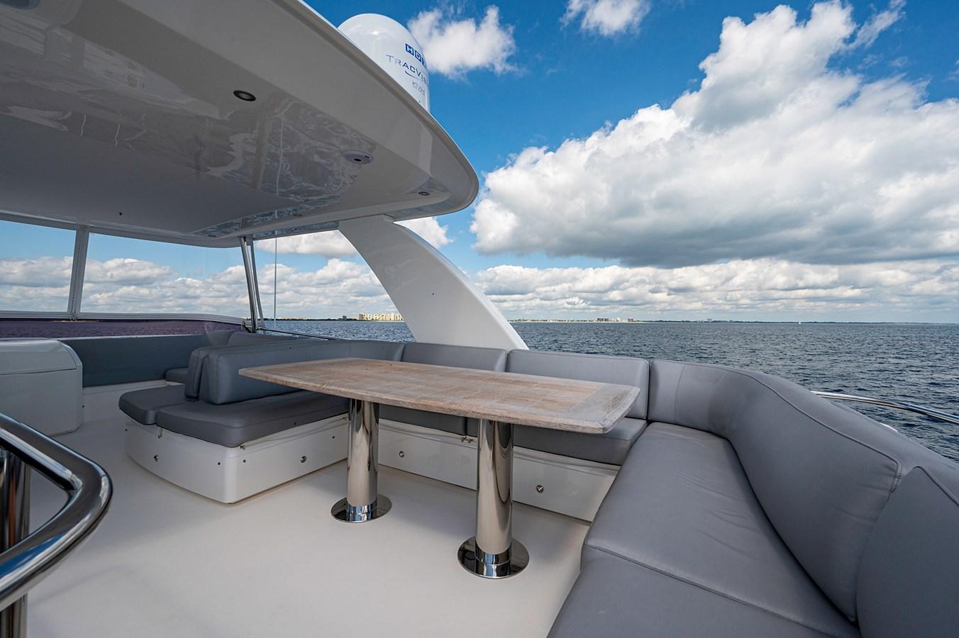 Bow To Stern_Flybridge4 2015 PRINCESS YACHTS 56 Motor Yacht 2932814
