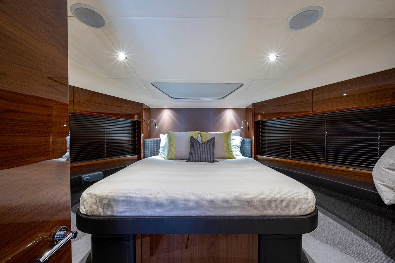 Bow To Stern_Forward Stateroom3 2015 PRINCESS YACHTS 56 Motor Yacht 2932822