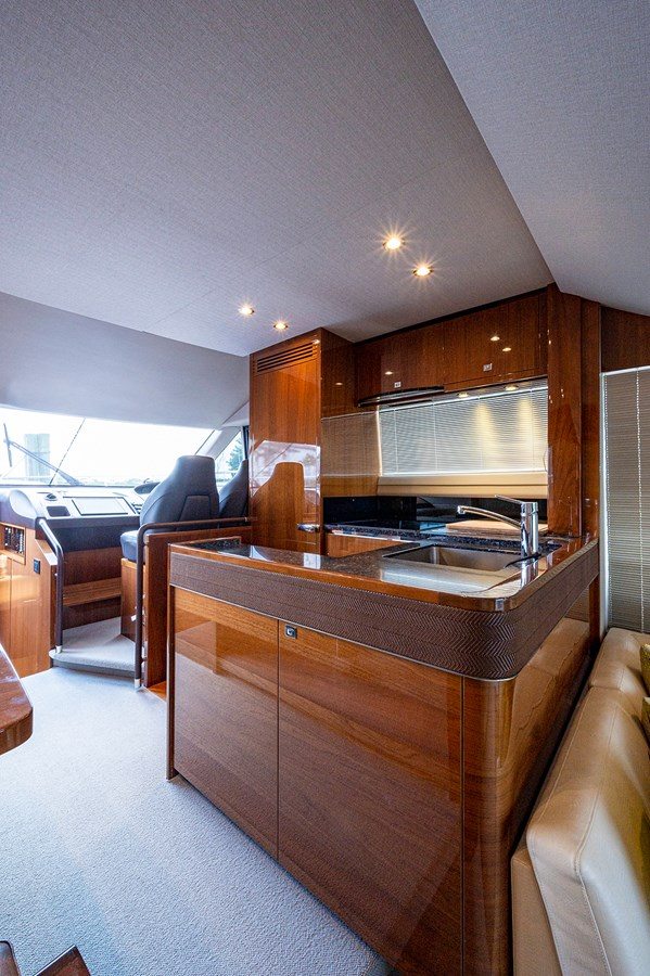 Bow To Stern_Galley1 2015 PRINCESS YACHTS 56 Motor Yacht 2932824