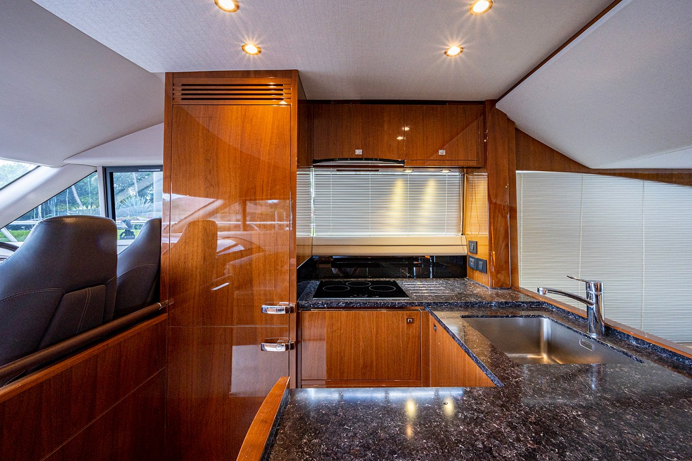 Bow To Stern_Galley3 2015 PRINCESS YACHTS 56 Motor Yacht 2932825
