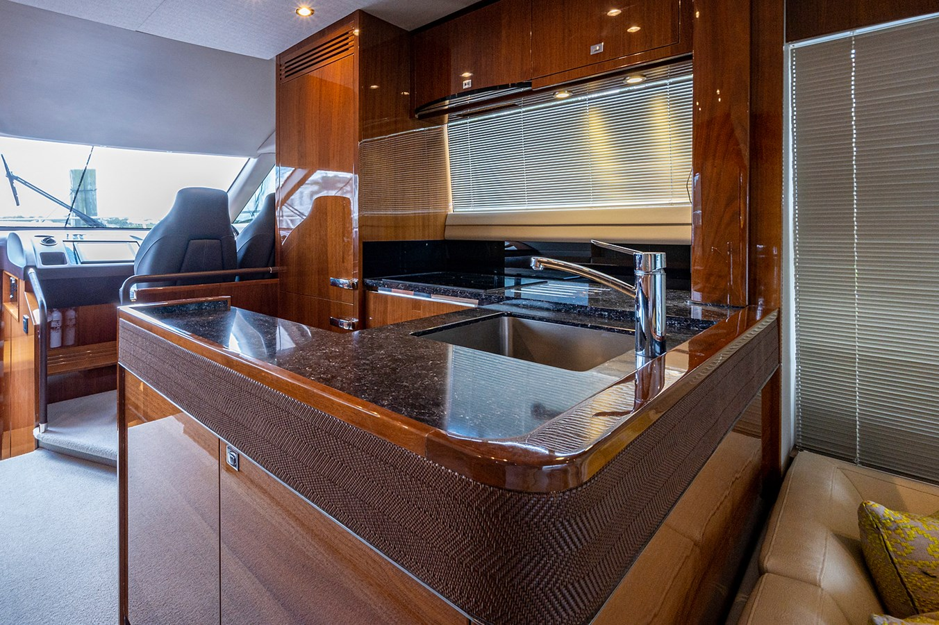 Bow To Stern_Galley4 2015 PRINCESS YACHTS 56 Motor Yacht 2932826