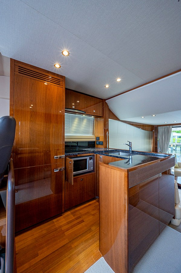 Bow To Stern_Galley5 2015 PRINCESS YACHTS 56 Motor Yacht 2932827