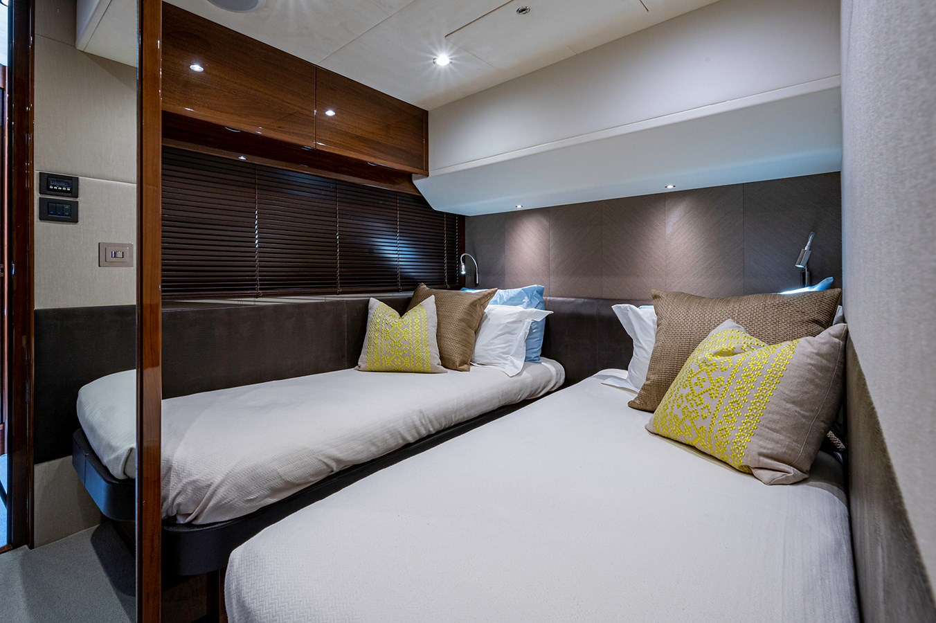Bow To Stern_Guest Stateroom1 2015 PRINCESS YACHTS 56 Motor Yacht 2932828