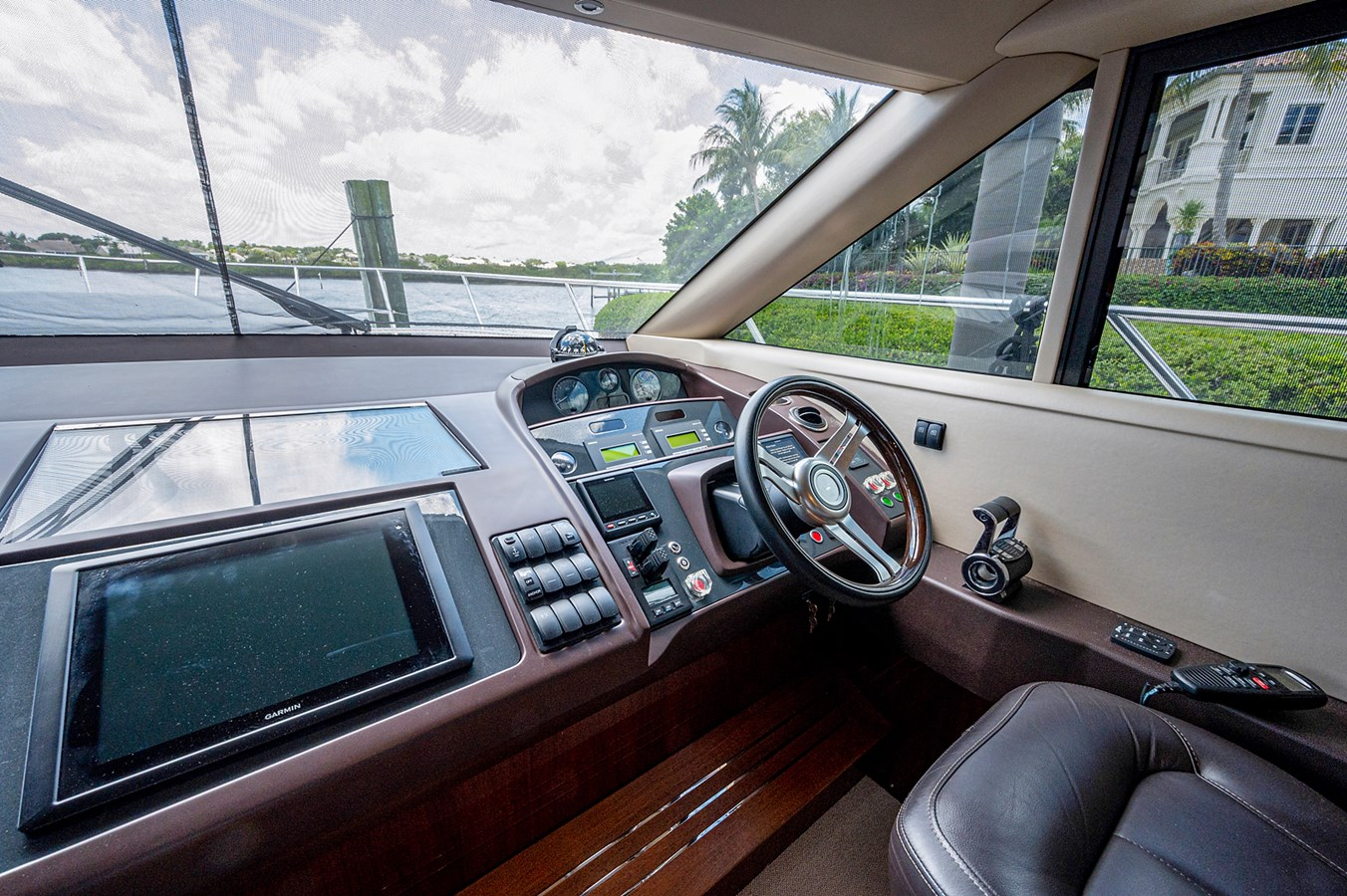 Bow To Stern_Helm2 2015 PRINCESS YACHTS 56 Motor Yacht 2932829